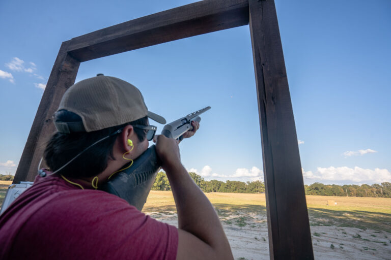 shooting five stand sporting clays